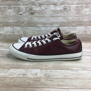 Converse All Star Low Chuck Taylor Mens 11 Leather
